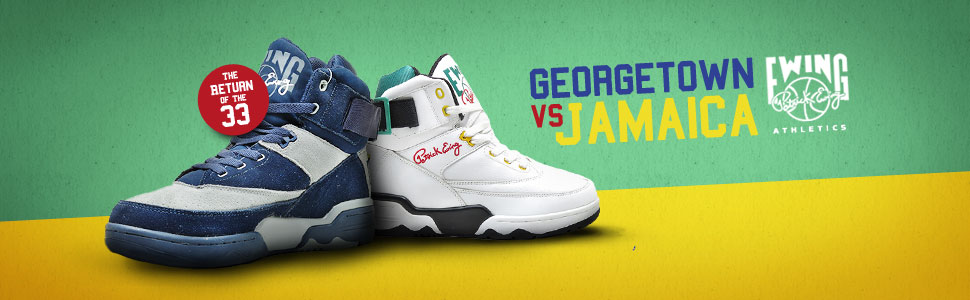 Ewing Athletics Georgetown &amp; Jamaica