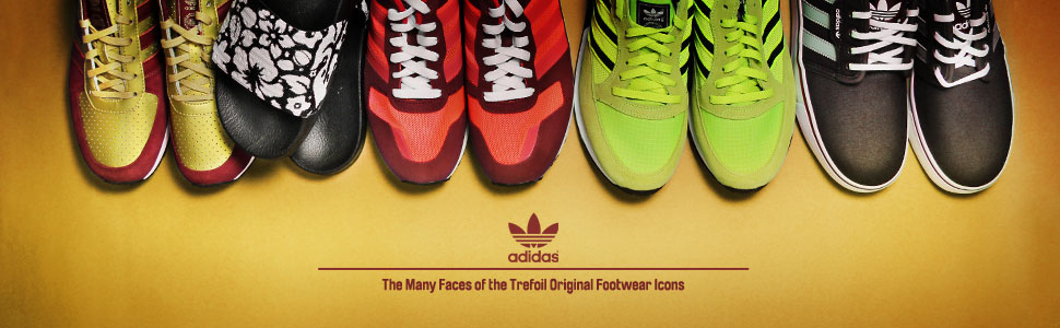 adidas Footwear - The Many Faces of the Trefoil Original Footwear Icons