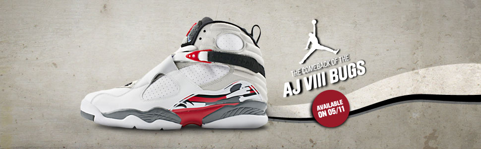 Air jordan 8 - The comeback of the AJ VIII Bugs