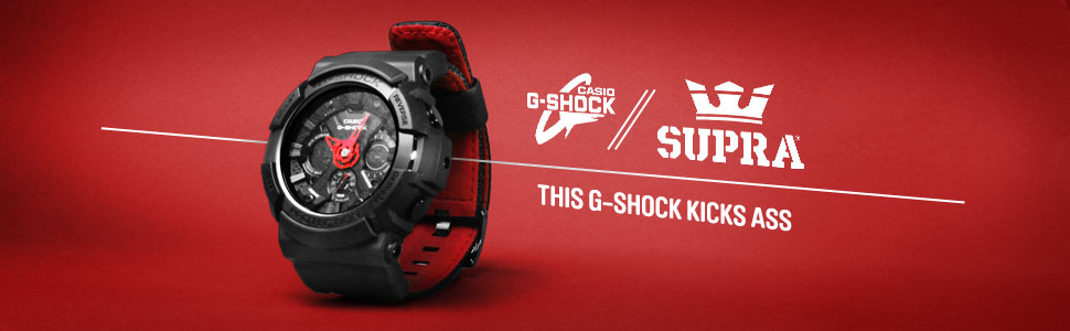 Casio x Supra - This G-Shock Kicks Ass