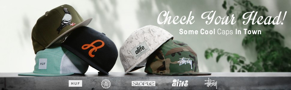 Check Your Head!  ----Some Cool Caps In Town----
