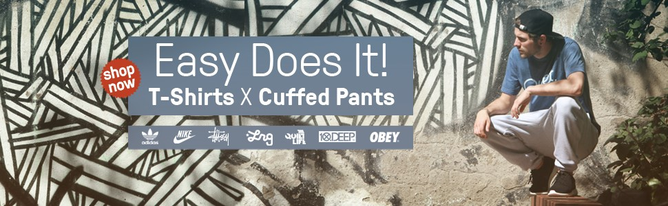 Easy Does It! ---Cuffed Pants & T-Shirts---