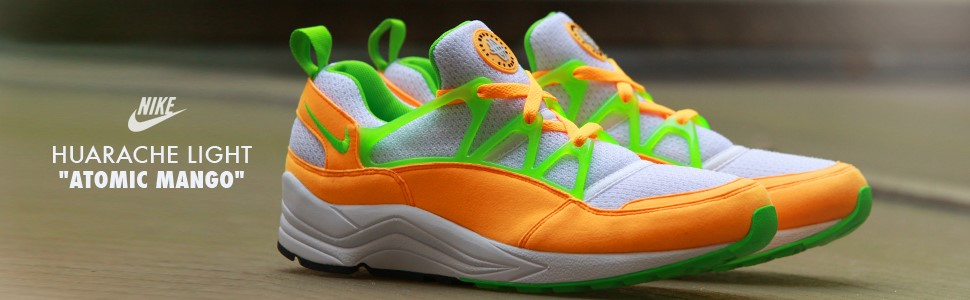 "Nike Huarache Light ""Atomic Mango"""