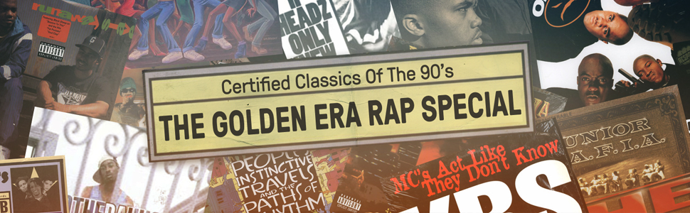 Certified Classics Of The 90's: The Golden Era Rap Special