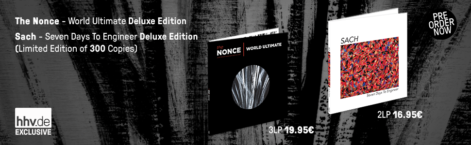 The Nonce - World Ultimate Deluxe Edition / Sach - Seven Days To Engineer