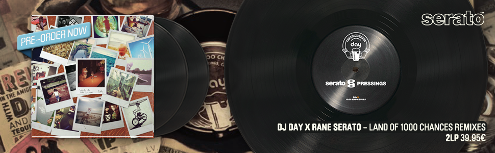 DJ Day x Rane Serato - Land Of 1000 Chances Remixes