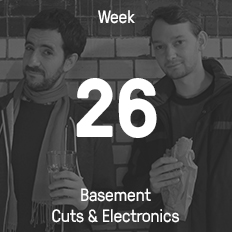 Week 26 / 2015 - Basement Cuts & Electronics