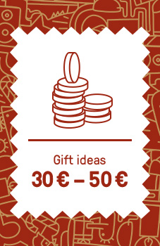Gifts 30 € - 50 €