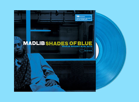 Madlib - Shades Of Blue (Colored Vinyl Edition)