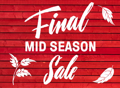 Urban Fashion FINAL MID SEASON SALE