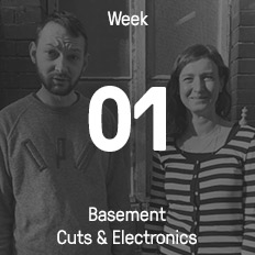 Week 01 / 2017 - Basement Cuts & Electronics