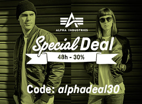Special Deal – Alpha Industries