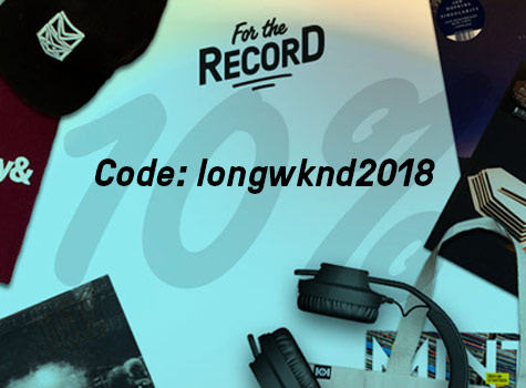 Long Weekend Special – 10% off Music